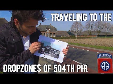 Dropzones of 504th PIR Operation Market Garden   WW2 Traveling #2