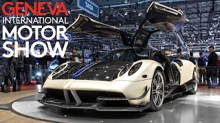 THE BEST OF GENEVA MOTOR SHOW 2016 - (Chiron, Huayra BC, Arrow, Arash, etc ... ) HQ