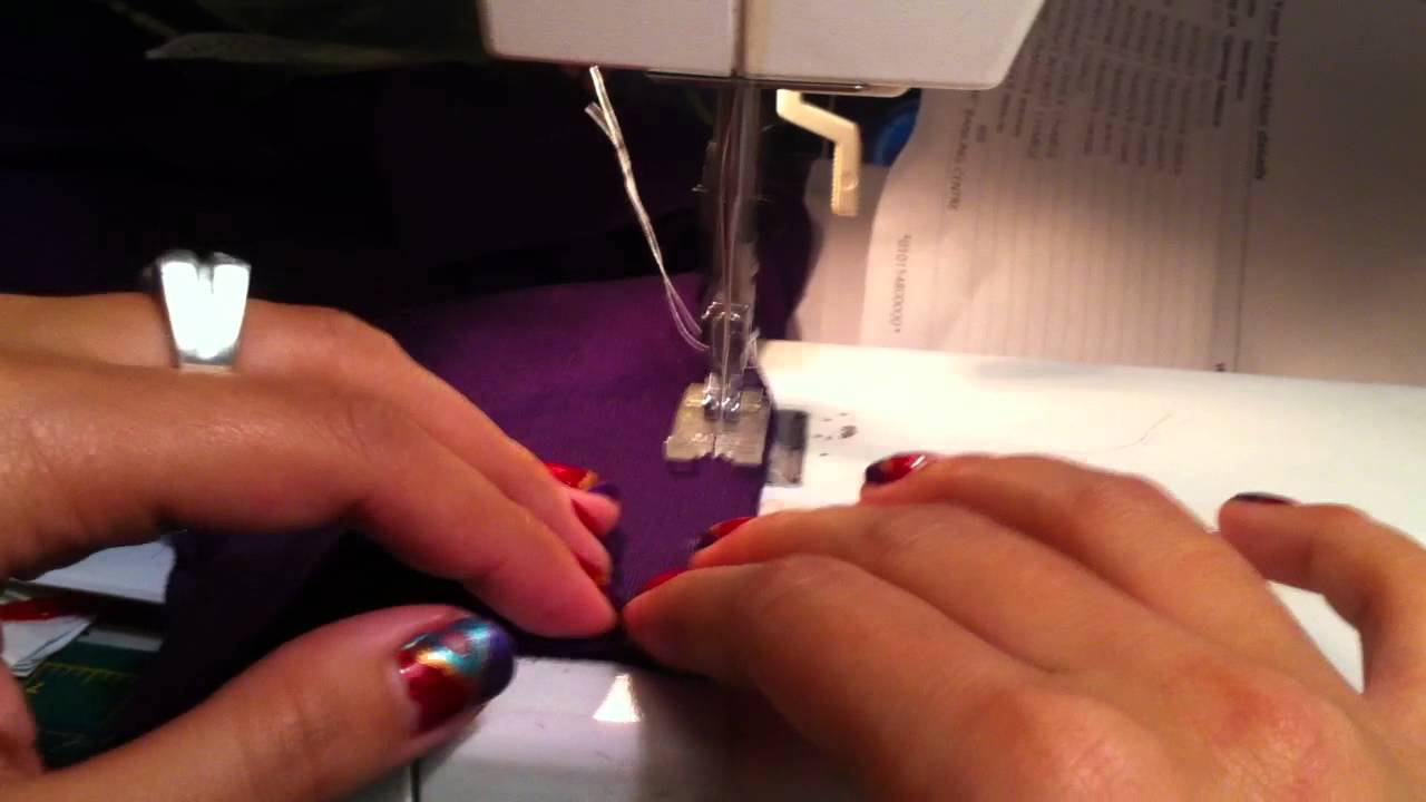 13c9bc9604 How To: Sweater Cuffs with Thumb holes - YouTube
