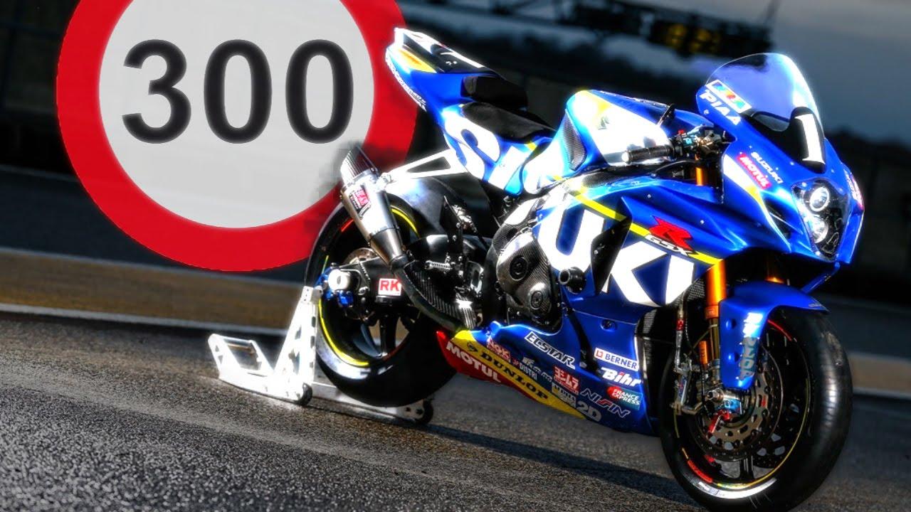Delightful SUZUKI GSX R 1000 300km/h TOP SPEED 2016 ((BEST RIDE ))   YouTube
