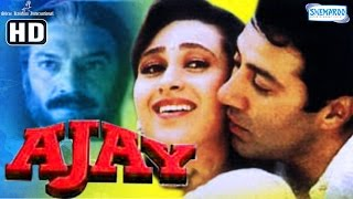 Repeat youtube video Ajay {HD} - Sunny Deol - Karisma Kapoor - Superhit Hindi Movie
