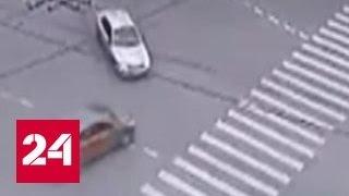 Фото ДТП в Москве три человека погибли на автобусной остановке