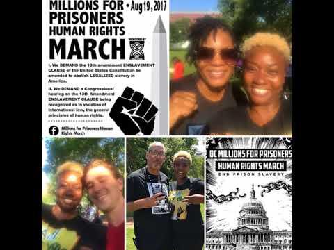 "Unheard Voices OTCJ ""2018 Nationwide prison strike"" in the making."