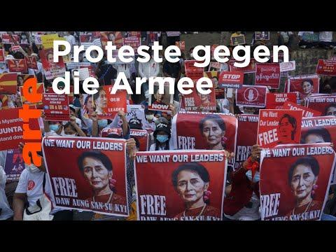 Myanmar: Der Mut des ganzen Volkes | ARTE Reportage