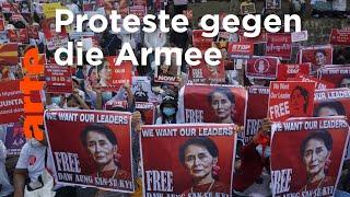 Myanmar: Der Mut des ganzen Volkes   ARTE Reportage