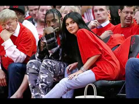 Kylie Jenner Makes a Quick Trip to Boston to Support Her New Guy Travis Scott  See Their Sweet PDA