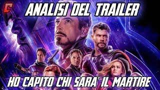 Avengers Endgame Trailer 2 Analisi - Ho capito chi sarà il martire