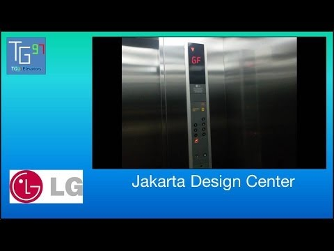 LG Traction Elevators at Jakarta Design Center