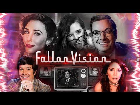 FallonVision with Elizabeth Olsen (WandaVision Parody)  The Tonight Show