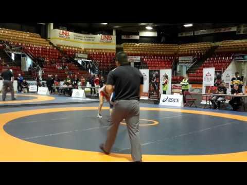 2016 Canadian Senior Championships: 53 kg Final Jade Parsons vs. Samantha Stewart