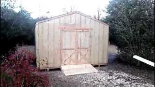 14x20 Gable Shed - Shed Plans - Stout Sheds Llc