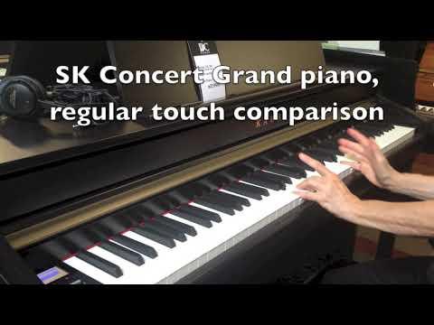 (HD) My evaluation of the Kawai CA 58 model console digital piano