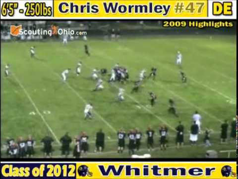 Chris Wormley - Highlight Video - Soph. Year