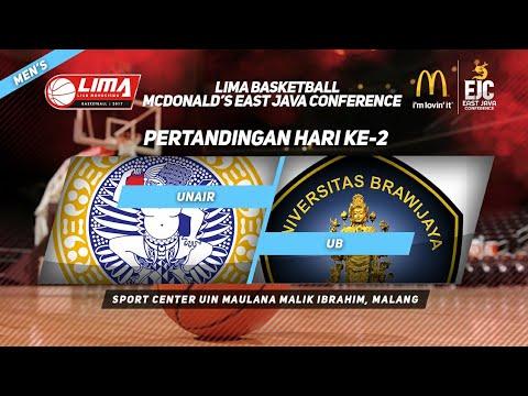 UNAIR VS UB di LIMA Basketball McDonald's East Java Conference 2017 (Men's)