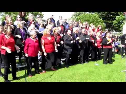 The Big Sing.....Sparks Will Fly.....Maldon Essex.....I  Wanna Dance With Somebody