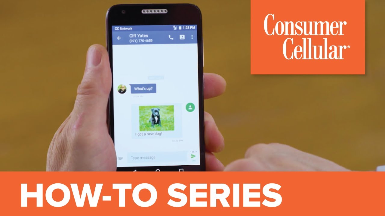 Alcatel Kora: Sending and Receiving a Text Message (4 of 8) | Consumer  Cellular