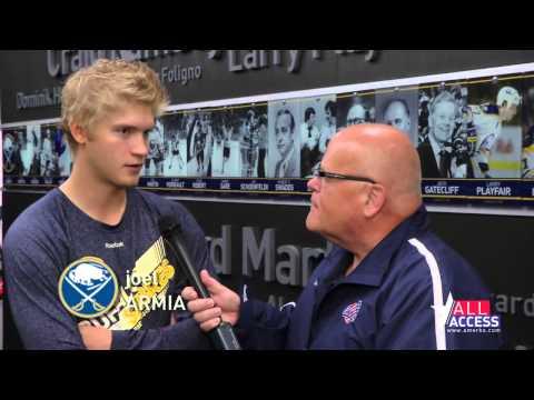 2014 Sabres Development Camp Interviews Daniel Catenacci Tim Schaller Joel Armia