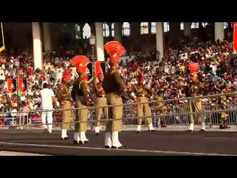 Attari Wagah Border : Watch The Retreat Parade : Clip By