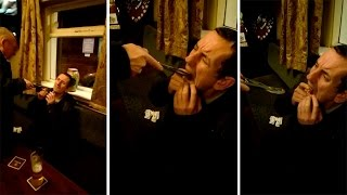 Drinker Pulls Out Tooth With Pliers