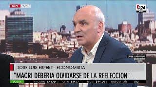 """José Luis Espert en """"Maxi mediodía"""" con Maxi Montenegro, por A24 el 08 de Abril de 2019"""