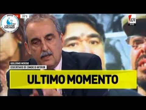 Guillermo Moreno en A24 07/12/17
