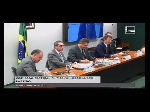 PL 7180/14 - ESCOLA SEM PARTIDO - Audiência Pública - 17/04/2018 - 15:49