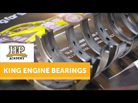 [TECH TALK] What Do You Know About Engine Bearings?   King Engine Bearings