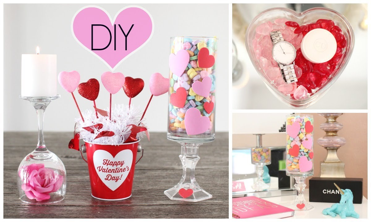 Diy room decor for valentine 39 s day youtube for Valentine s day room decor