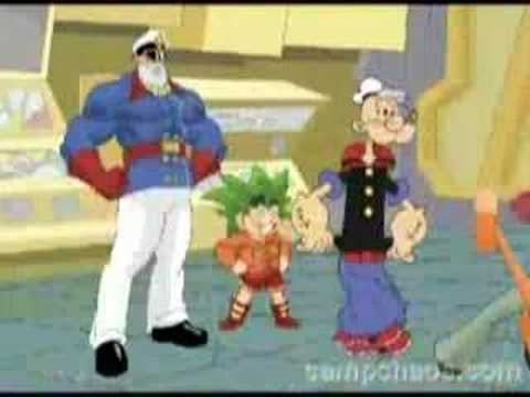 Popeye vs Anime