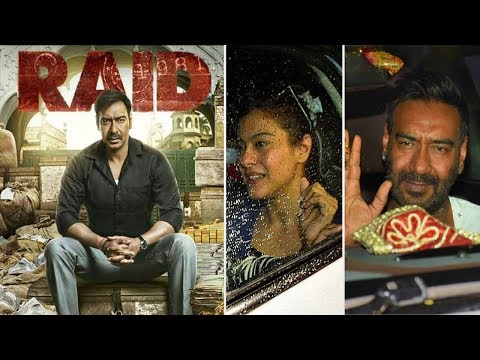 RAID movie GRAND Screening | Ajay Devgn, Kajol, Ileana D'Cruz, Saurabh Shukla Mp3