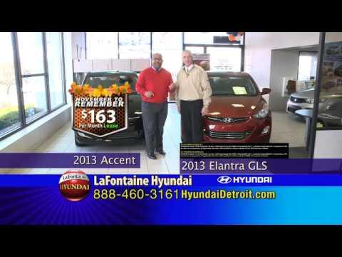 LaFontaine Hyundai - November to Remember Specials - Dearborn, MI