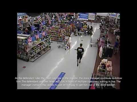 Berks DA Releases Video Showing the Behavior of Stanley Gracius in Walmart.