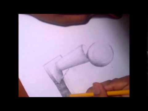 """How to Draw A Larry O"""" Brien Trophy [RE-UPLOADED]"""