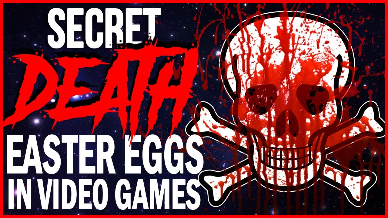 10 Super Secret DEATHS in Video Games!