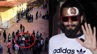 Ranveer Singh's SHOCKING Injury On 'Padmavati' Sets