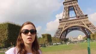 EuroVlog Dia #15| Paris: Torre Eiffel e Jardim de Luxemburgo