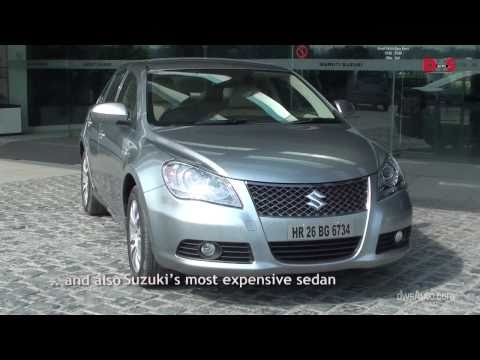 Suzuki Kizashi road test video and review - test drive of the Maruti Suzuki kizashi for India