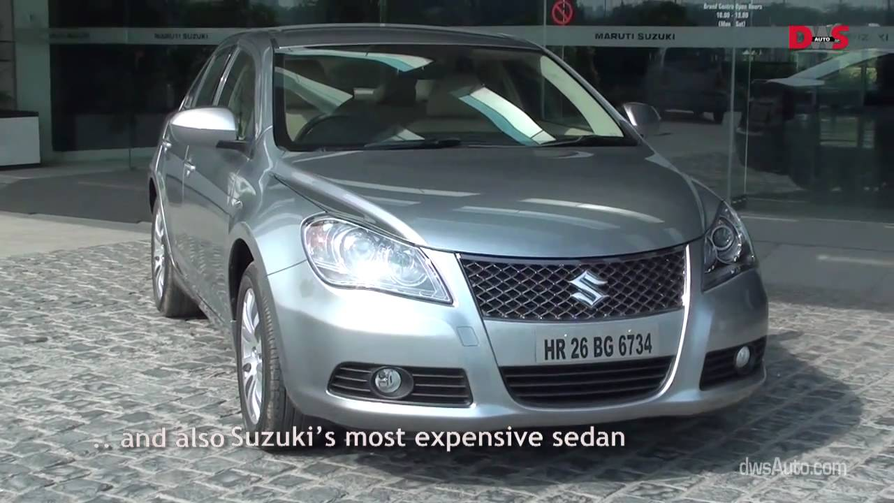 Suzuki Kizashi road test video and review  test drive of the