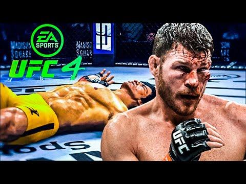 Download BRUCE LEE VS MICHAEL BISPING   UFC 4 BRUTAL FIGHT   UFC 4   UFC 4 2021   EA SPORTS UFC 4