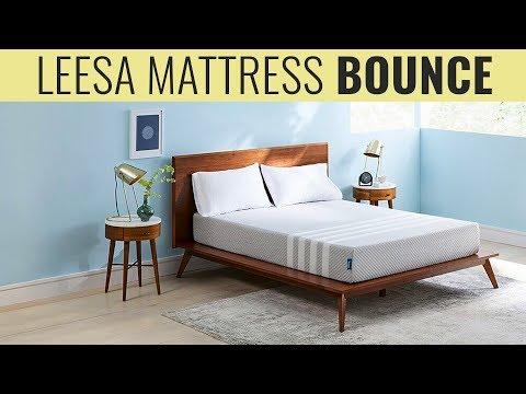 Leesa Mattress Bounce Test With Bowling Ball Youtube