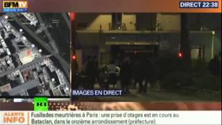 Paris shootings, explosions: 120+ killed & at least 100 were taken hostage