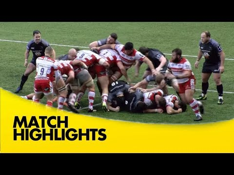 Newcastle Falcons v Gloucester Rugby - Anglo Welsh Cup 2017-18