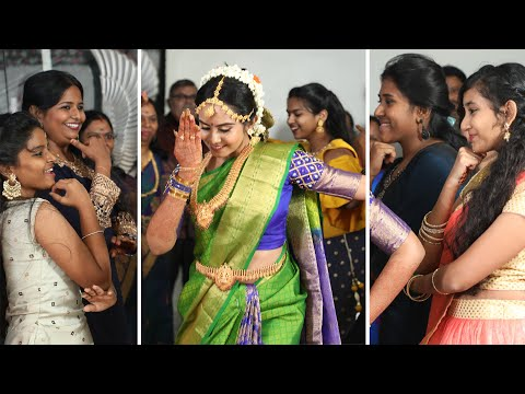 Engagement entry dance with bride    #NisSan   Tamil   Telugu