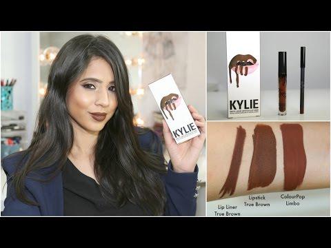 beauty kylie lip kit true brown k