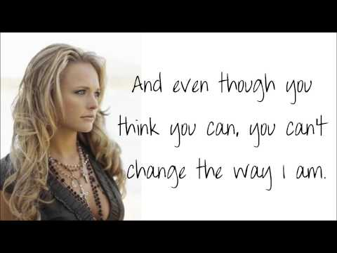 Miranda Lambert - Girls Like Me