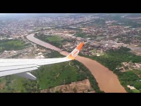 Decolando do Aeroporto de Cuiabá - MT - Avião da Gol