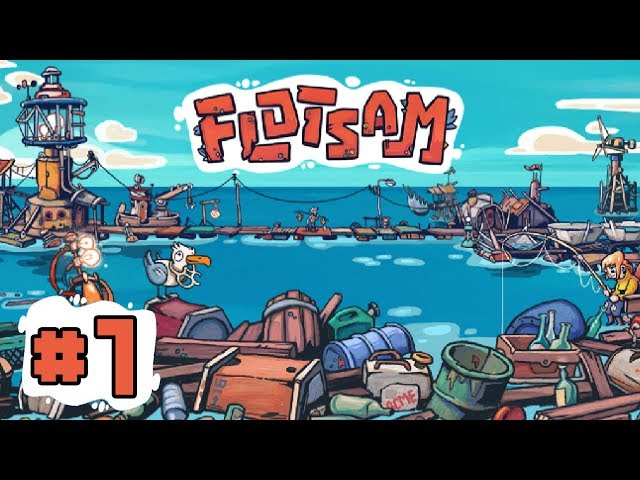 Creating a Floating City on the OCEAN! - FLOTSAM - EP 1