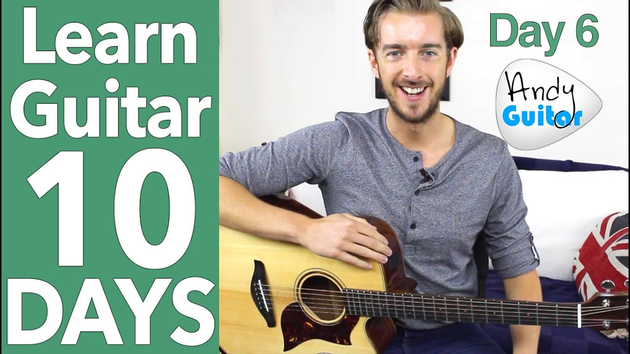 Guitar Lesson 6 - EASY Fingerstyle & Minor Chords - Ain't ...