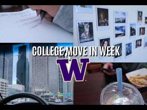 COLLEGE MOVE-IN WEEK | UNIVERSITY OF WASHINGTON | WEEKLY VLOG #2