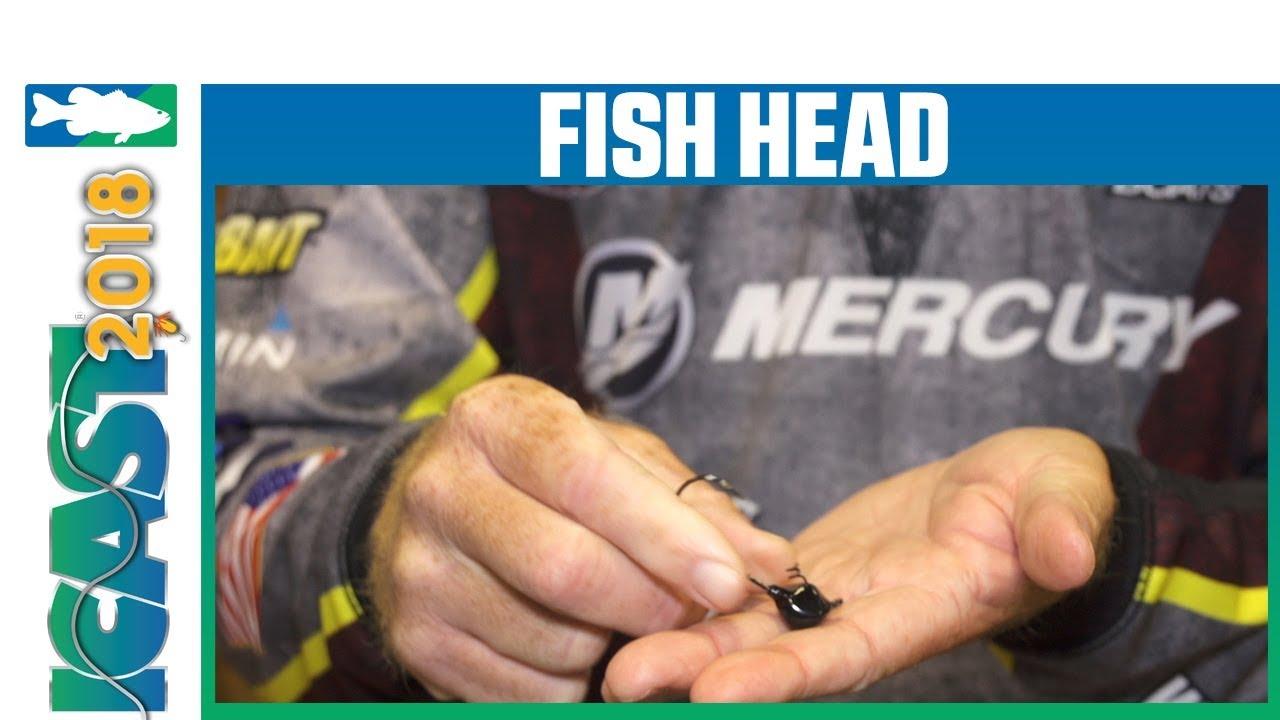 Fish Head E Series Hammer Spin Jig Head
